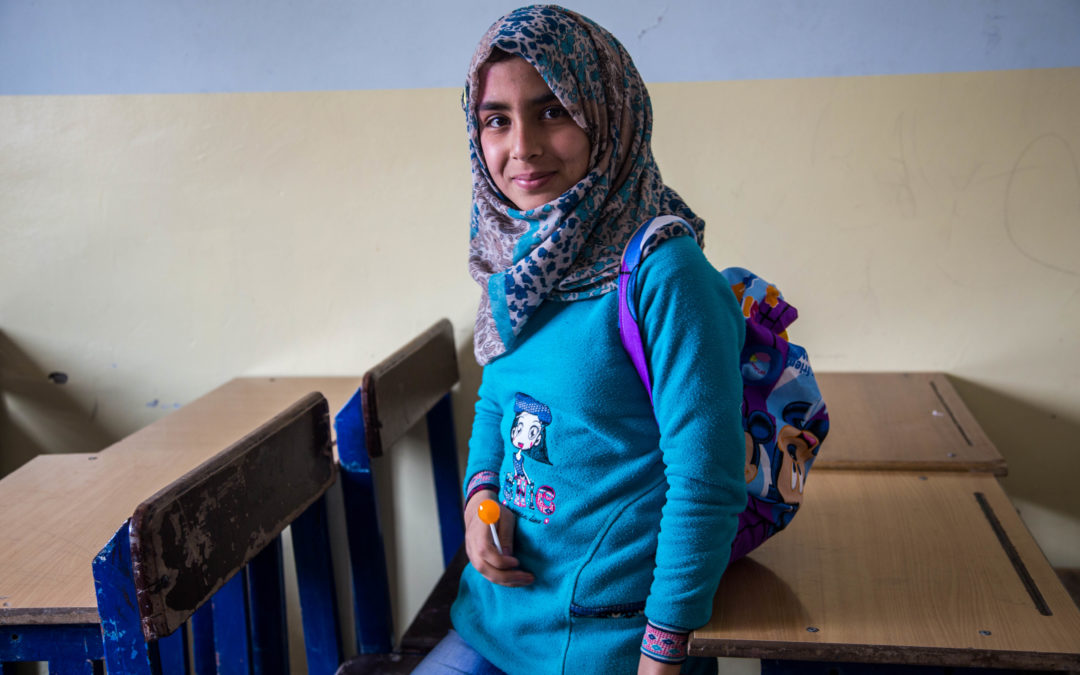 Gi syriske flyktningbarn håp!